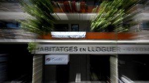 Alquiler de pisos en la avenida Diagonal de Barcelona.