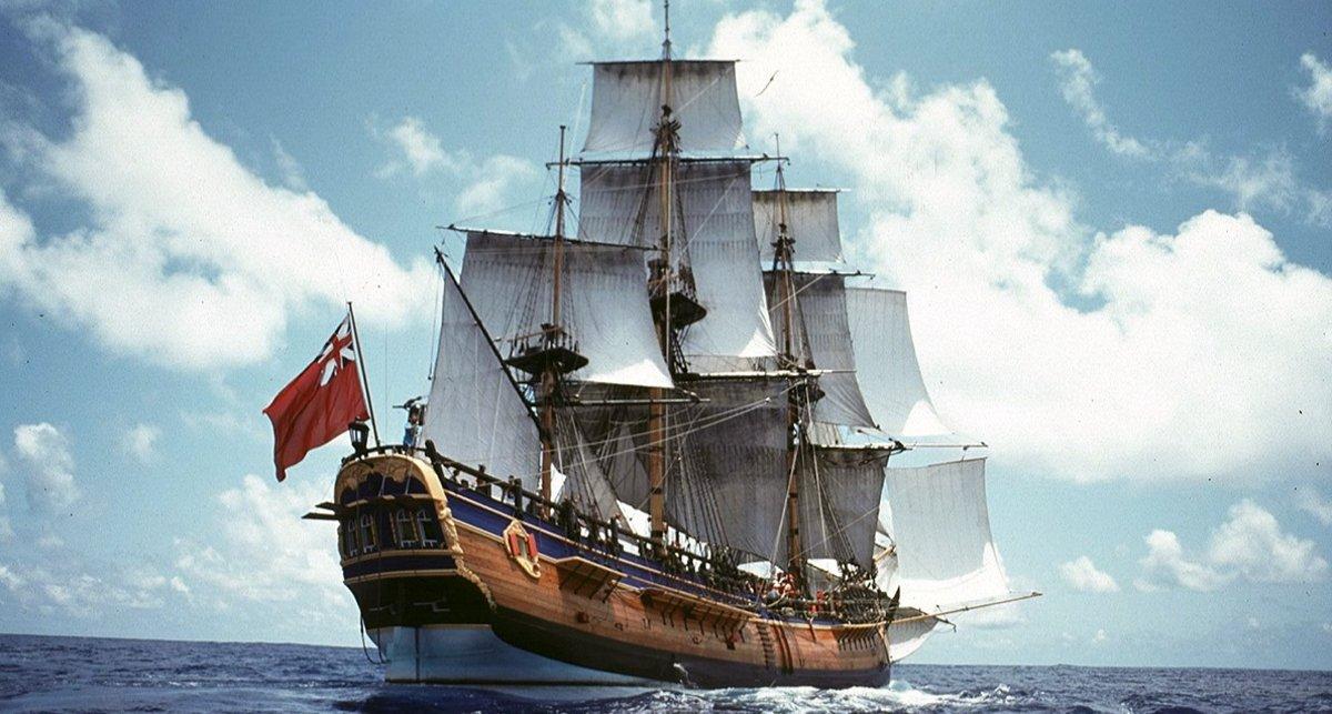 El capitán Cook realizó el primer mapa de la costa este de Australia.
