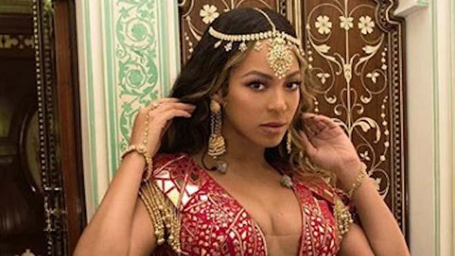 Beyoncé actúa en la boda de la hija del hombre más rico de la India.