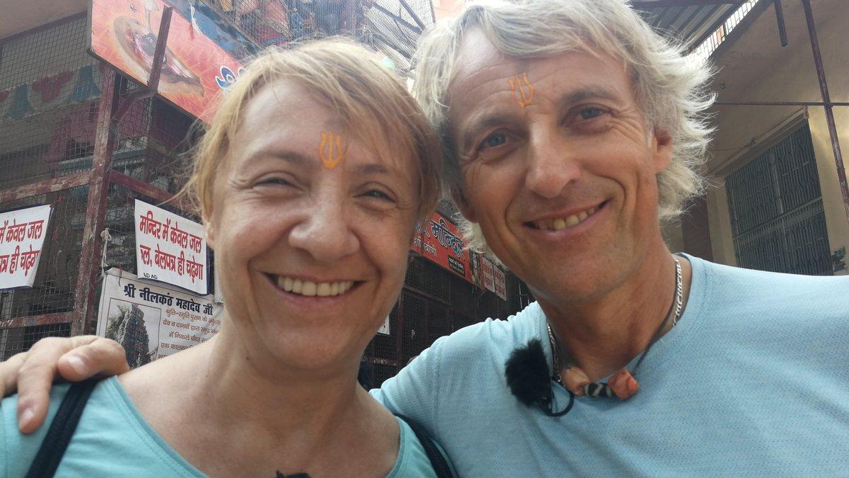 Blanca Portillo junto a Jesús Calleja en Planeta Calleja.