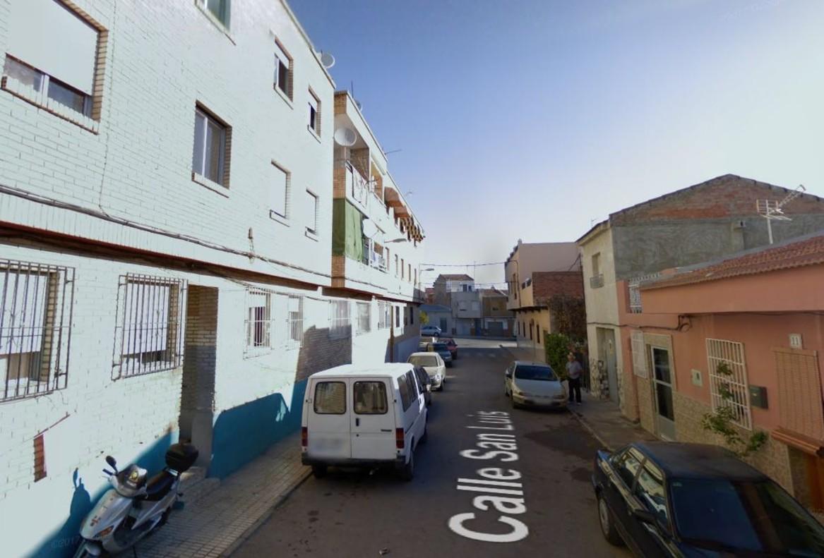 Calle de San Luis donde ha perdido la vida un hombre la madrugada del lunes.