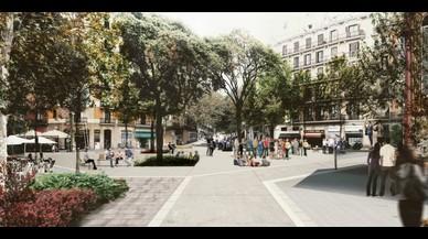 La losa del mercado provisional de Sant Antoni no se retirará