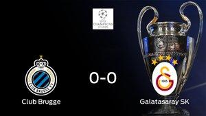 El Club Brugge y el Galatasaray firman las tablas tras empatar a cero