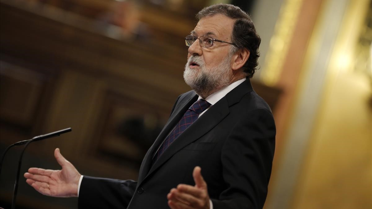 Comparecencia del presidente del Gobierno,Mariano Rajoy, en el Congreso.