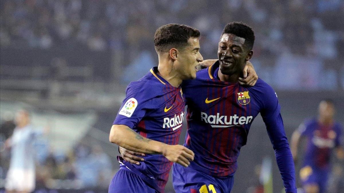 Barcelona pone en el mercado a Dembélé