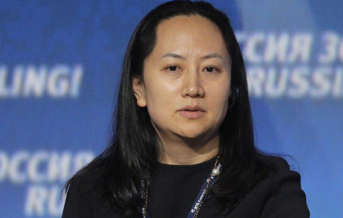 SHP15. MOSCÚ (RUSIA), 05/12/2018.- Fotografía de archivo del 2 de octubre de 2014, muestra a Meng Wanzhou, directora financiera de Huawei, mientras participa en el foro de inversión VTB Capital's 'RUSSIA CALLING' en Moscú (Rusia). La directora financiera del gigante electrónico chino Huawei, Wanzhou Meng, fue arrestada por las autoridades canadienses para ser extraditada a Estados Unidos por la supuesta violación de las sanciones impuestas por Washington contra Irán, anunció hoy el Gobierno de Canadá. EFE/MAXIM SHIPENKOV/ARCHIVO