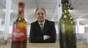 Eldirector de Márketing, Comunicación y Exportación deDamm,Jaume Alemany, en una imagen tomada en el 2014.