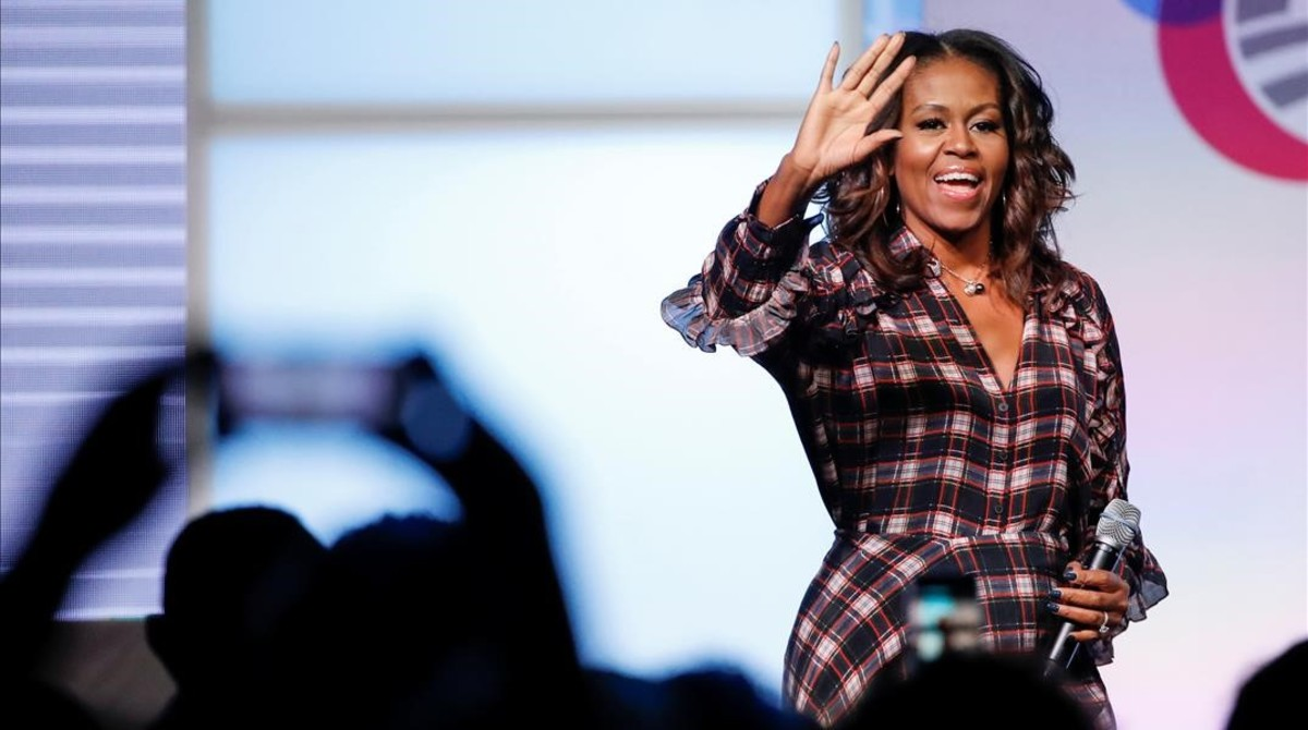 Michelle Obama s'entrega a 'Black Panther'