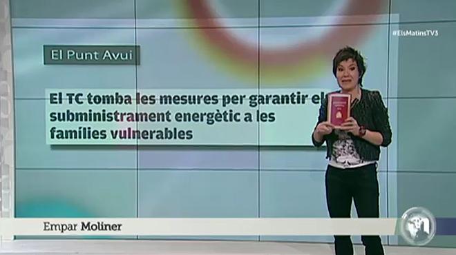Empar Moliner explica a Mònica Terribas en su programa de Catalunya Ràdiolos motivos por los cuales quemó la Constitución.