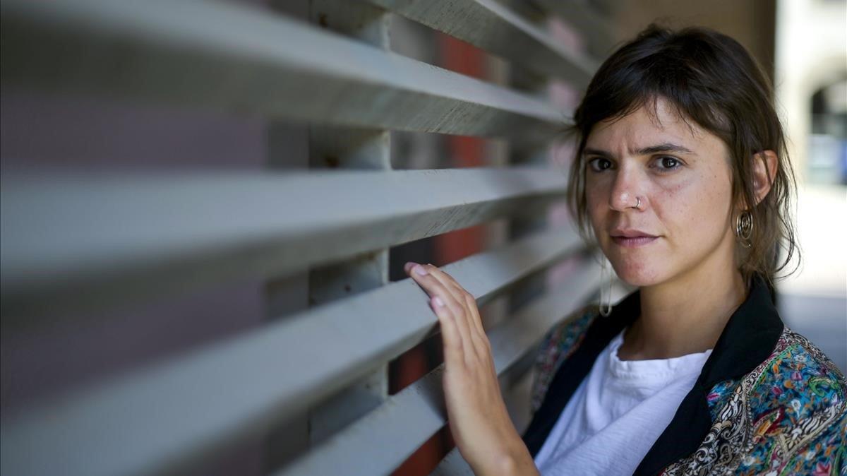 La escritora mexicana Valeria Luiselli, en el CCCB.