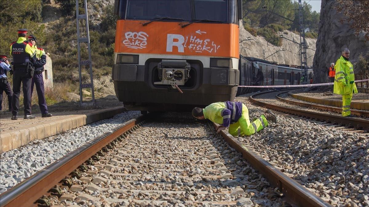 Últimes notícies del xoc entre dos trens de Rodalies a Sant Vicenç de Castellet | Directe