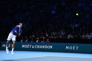 Roger Federer, en Londres.