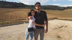 Feliciano López y Sandra Gago, en la primera imagen que el tenista cuelga en su cuenta de Instagram de los dos juntos.