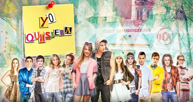 Foto de grupo de la serie 'Yo quisiera'.