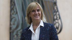 Gemma Nierga, en Barcelona, el pasado mes de septiembre.