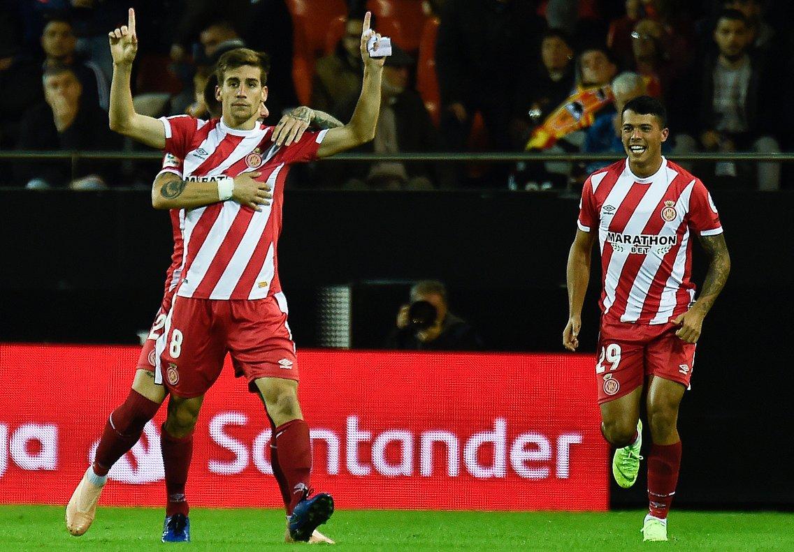 Enorme victòria del Girona a Mestalla