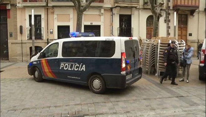 Un coche de la Policia Nacional.