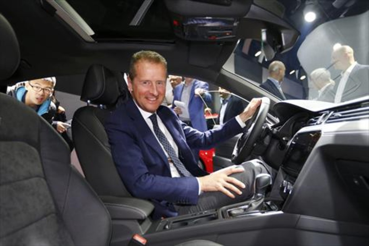 El presidente del Grupo Volkswagen, Dr. Herbert Diess, ha sido nombrado nuevo presidente del Consejo de Administración de SEAT.
