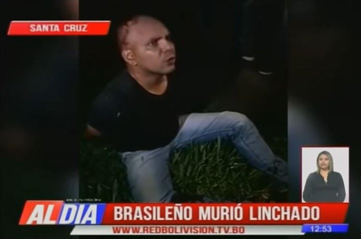 El hombre que murió linchado en Bolivia.