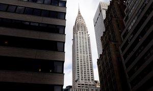 Imagen del edificio Chrysler, actualmente. es una de las referencias de la ciudad de nueva York.