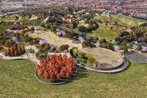 Imagen virtual del proyecto de reforma de Ca nOriol propuesto por el gobierno municipal