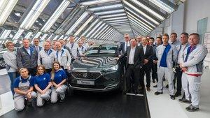 Inicio de producción del nuevo Seat Tarraco en Wolfsburg.