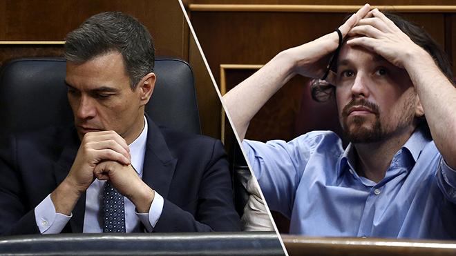 Investidura fallida: Sánchez no consigue reunir los suficientes apoyos.