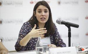 Irene Montero, portavoz de Unidas Podemos.