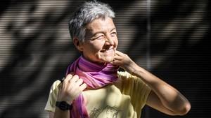 """Maria Àngels Berenguer: """"En la escuela hay muchos huérfanos por el sida"""""""