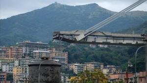 Finalitzen les obres de rescat per l'ensorrament del pont Morandi a Gènova