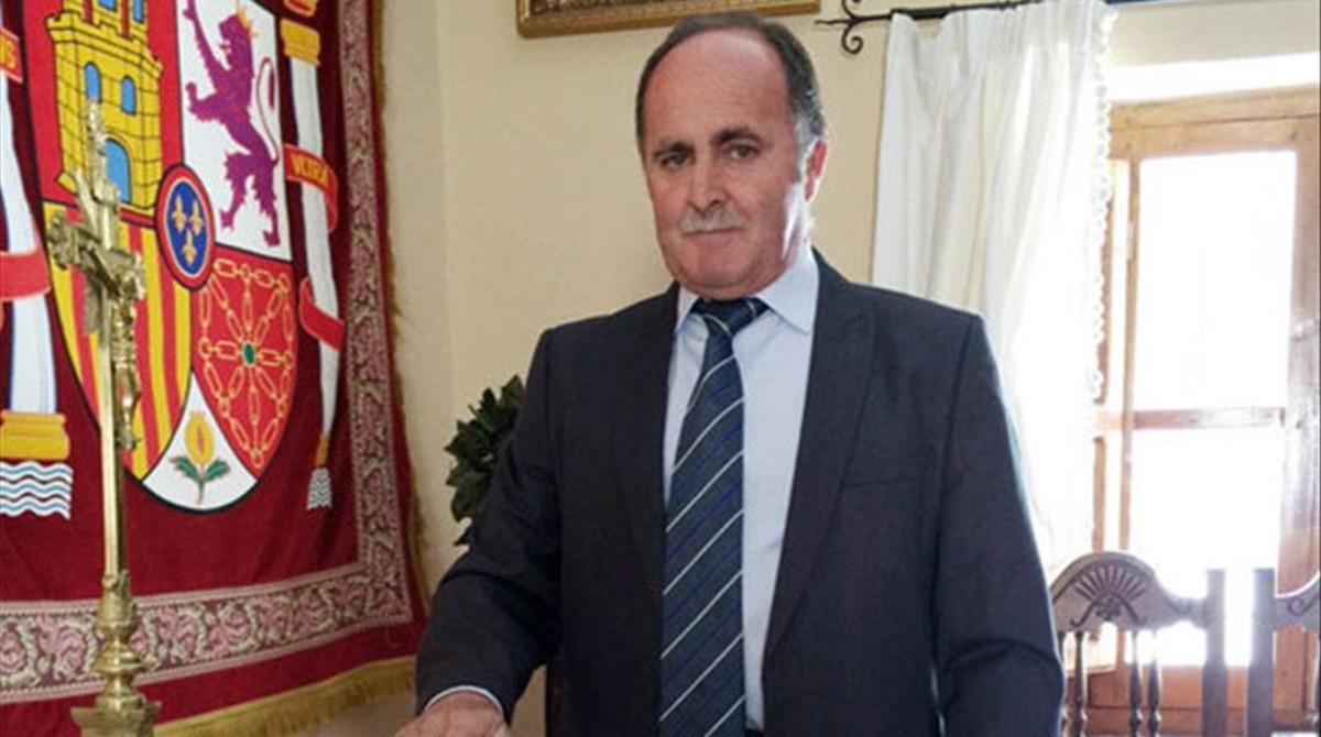 Pedro Pérez, alcalde del PP de Cervera de los Montes (Toledo).
