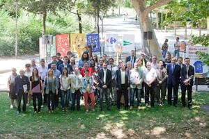 Jordi Ballart presenta el programa de la Festa Major 2014 al parc de Vallparadís