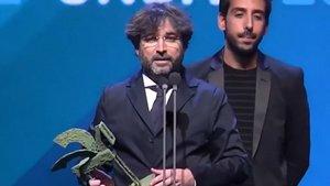 El dardo de Jordi Évole a Santiago Abascal durante la entrega de los Ondas