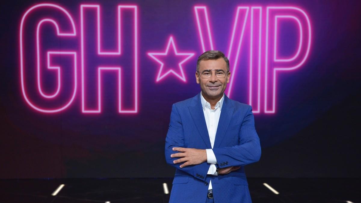 Jorge Javier Vázquez en el plató de GH VIP 6.