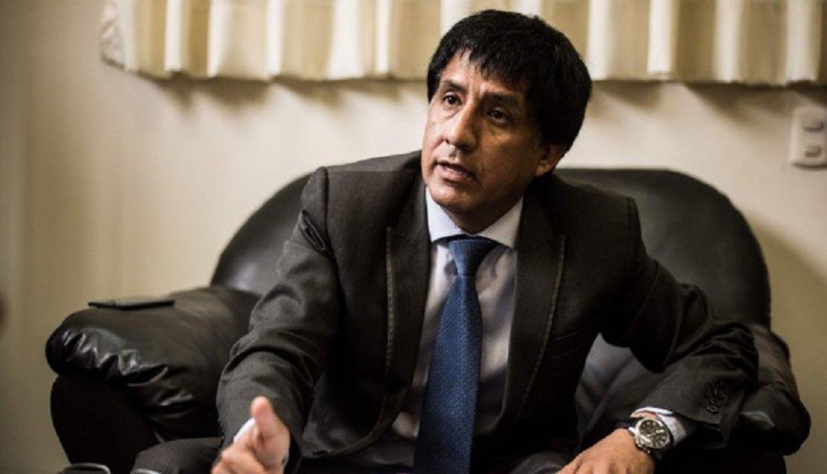 Juez peruano Richard Augusto Concepción Carhuancho.