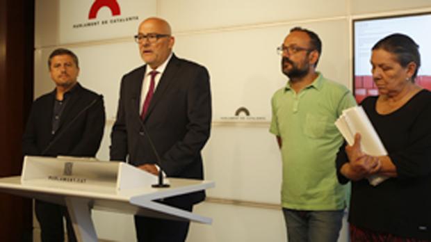 Presentación de la ley de transitoriedad jurídida y fundacional de la República.
