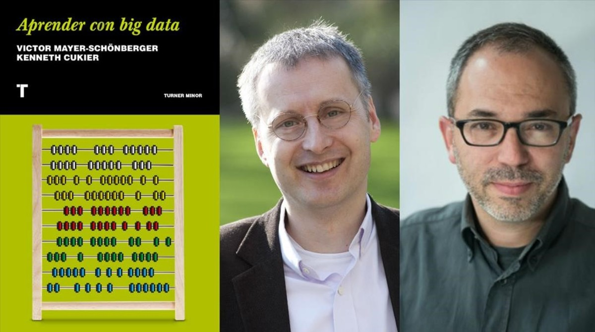 Aprender con big data, de Victor Mayer-Schönberger y Kenneth Cukier (Editorial Turner, 2018).