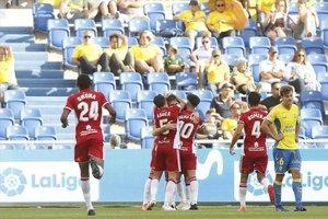 L'UD Almeria, rival del Girona en el 'play-off', confirma un positiu a la seva plantilla