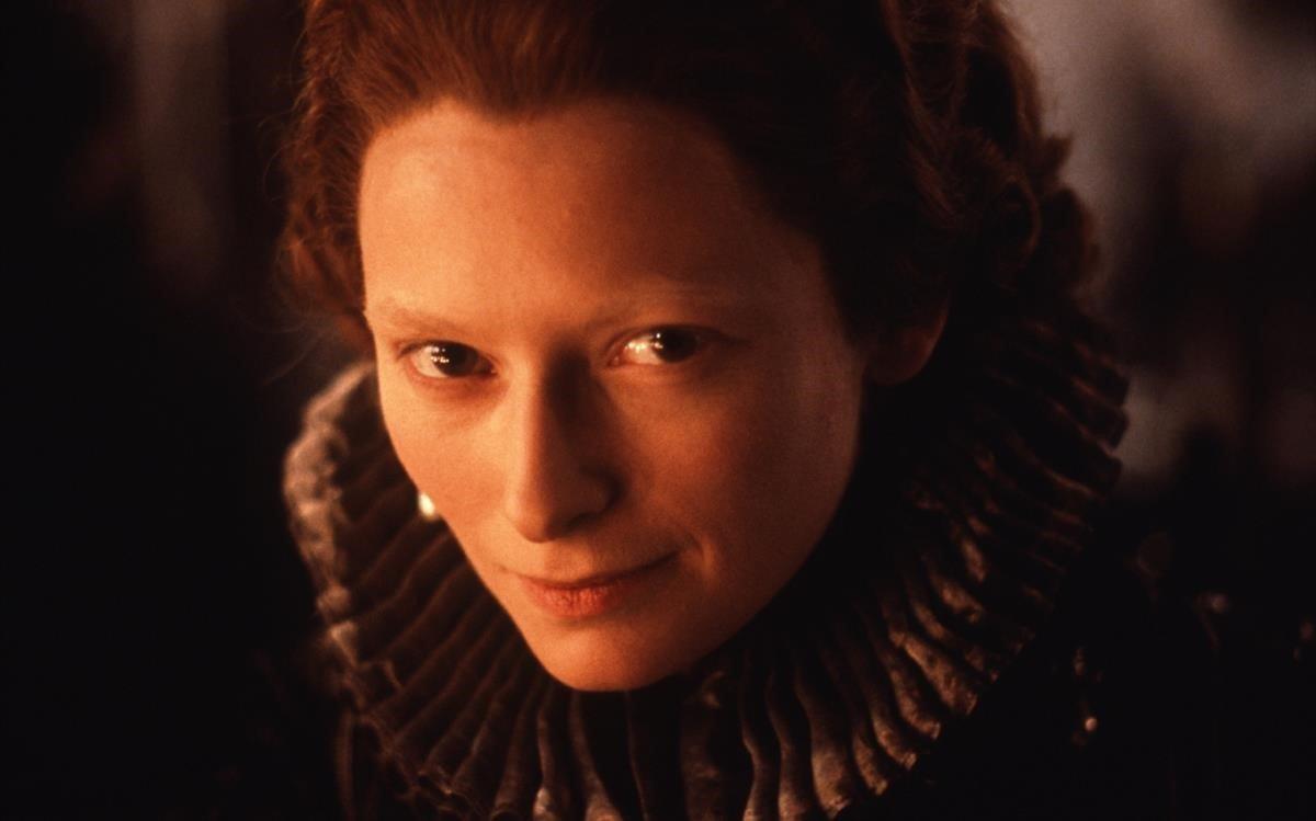 La actriz Tilda Swinton, en la película 'Orlando'.