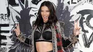 Adriana Lima, en un acto promocional de Victorias Secret en Nueva York, el pasado 28 de noviembre.