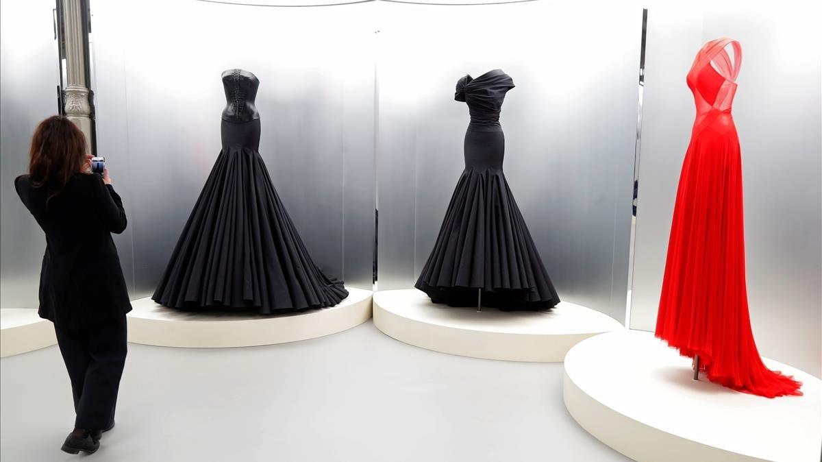 Muestra dedicada a Azzedine Alaïa, en París.