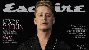 Macaulay Culkin, en la portada de 'Esquire'.
