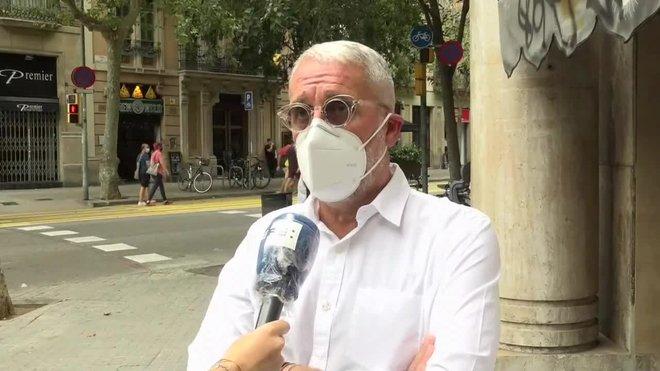 El gerente, Pedro Arditelos de La Torrassa Serveis a la Dependència, dice que los ocho casos de covid-19 son asintomáticos.