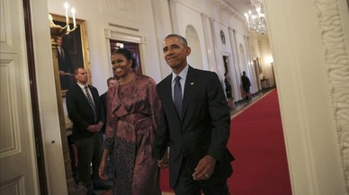 Michelle Obama, clàssica i seductora