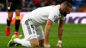 El Madrid sigue sin levantar cabeza en la Liga.