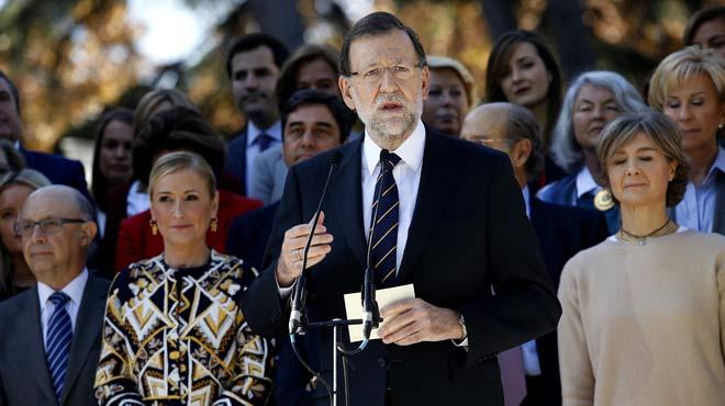 Rajoy se aferra a los grandes temas de Estado en vísperas de la campaña