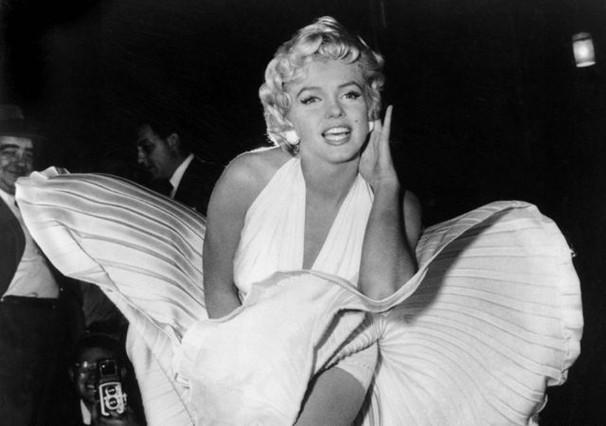 Marilyn Monroe, en la icónica fotografía planificada por Sam Shaw.