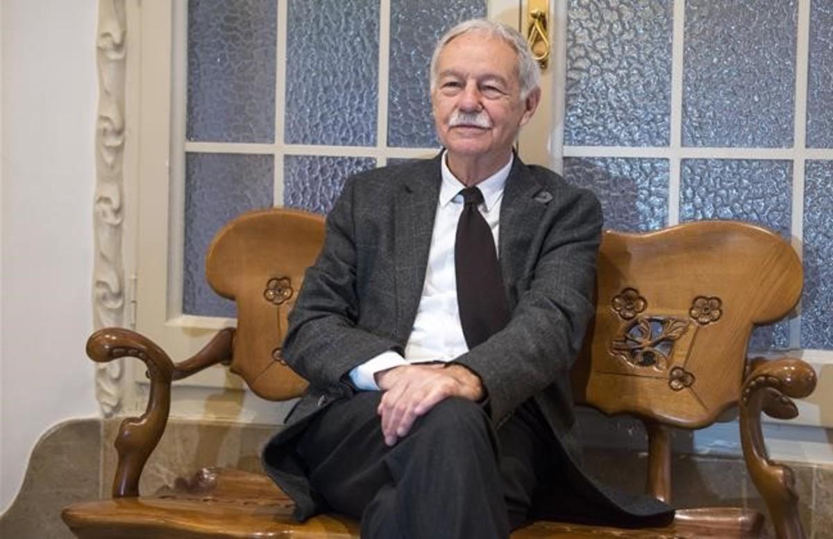 Mendoza, en octubre del año pasado en La Pedrera, en la presentación de El secreto de la modelo extraviada.
