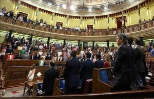 """""""Grito de silencio"""" en honor a Miguel Ángel Blanco tras la declaración frustrada del Congreso"""