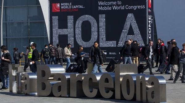 El Mobile World Congress, el mayor congreso de telefonía del mundo, abre sus puertas en la Fira de LHospitalet.